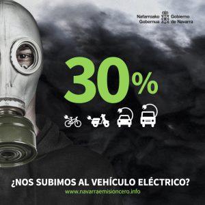 El Gobierno de Navarra apuesta por la movilidad sostenible con una impactante campaña publicitaria de concienciación medioambiental