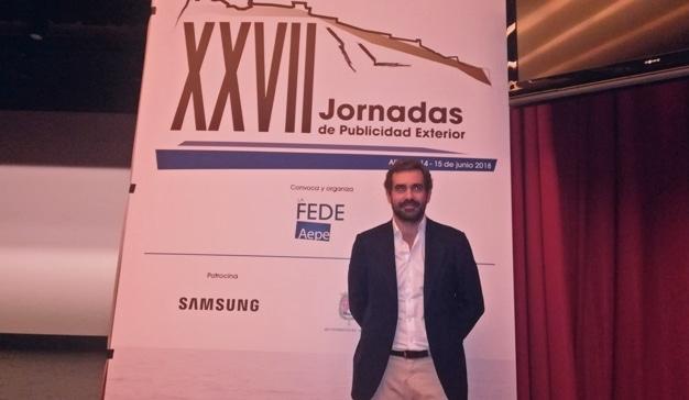 Rubén Díez, Sales Director España en JCDecaux.