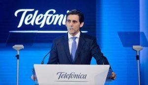 Telefónica supera las expectativas aumentando sus beneficios un 8,6% en la primera mitad de 2018
