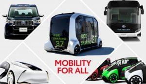 Toyota presenta cómo será la movilidad en los Juegos de Tokio 2020