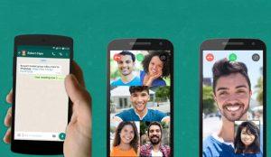 Las videollamadas en grupo llegan a WhatsApp para iOS y Android