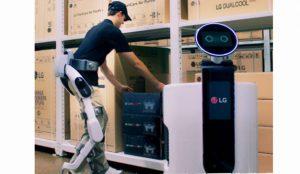 LG amplia su línea de robots lanzando el primer robot wearable