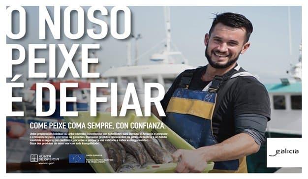 O noso peixe é de fiar, nueva campaña de 100x100 para la Xunta de Galicia