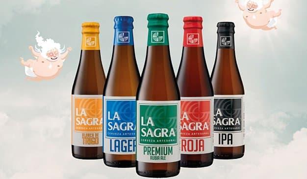 La cervecera artesanal LA SAGRA actualiza su imagen para afrontar una nueva etapa de crecimiento