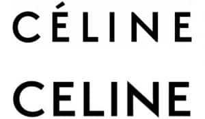 Céline quita su tilde y saca un nuevo logo inspirado en el original de los años 60