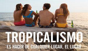 TROPICALISMO: la primera campaña de Great Canarias para cerveza Tropical