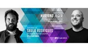 #ElOjo2018 presenta a Saulo Rodrigues y Mariano Jeger como Conferencistas
