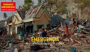El Comité de Emergencia se activa para canalizar la solidaridad frente al desastre natural de las Islas Célebes, en Indonesia