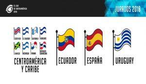 #ElOjo2018: Todos los Jurados del Caribe, Ecuador, España y Uruguay