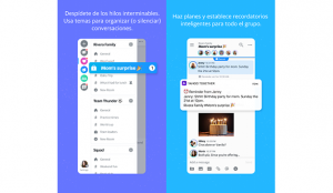 Oath lanza Yahoo Together, una app para organizar grupos de mensajería
