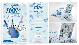 beon. diseña una campaña para promocionar  los productos más icónicos de PILOT