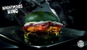 Burger King España celebra Halloween con Nightmare King, la hamburguesa que le provocará pesadillas