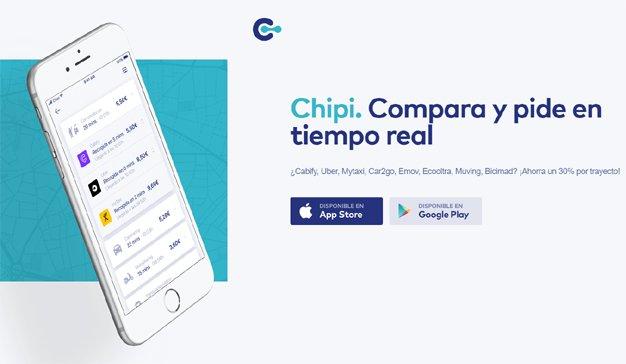 Chipi, el comparador en tiempo real de movilidad urbana que usan más de 30.000 madrileños