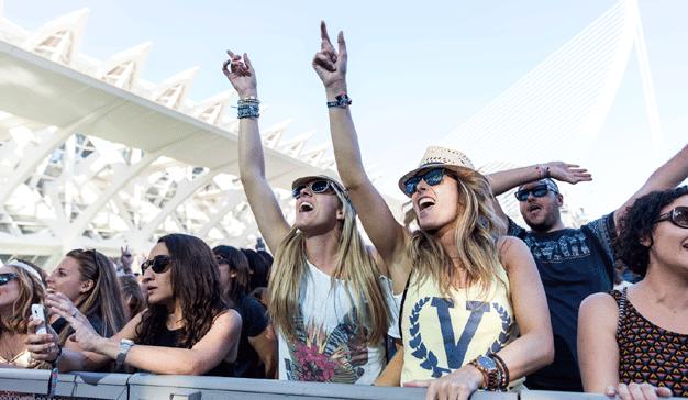 Las marcas son música para los oídos de los asistentes a festivales