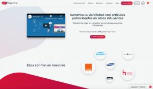 getfluence: la plataforma que conecta a los editores influyentes con las marcas