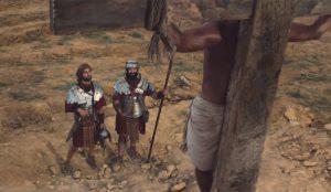 En este irreverente spot unos soldados le piden a Jesucristo crucificado que done sus órganos