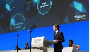 El presidente de Telefónica pide a Bruselas una regulación del siglo XXI para las telecos