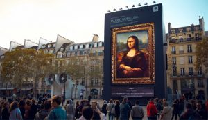 La enigmática Mona Lisa habla por los codos en esta parlanchina campaña de BMW