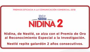 Nestlé se vuelve a alzar con el Reconocimiento Especial a la Investigación