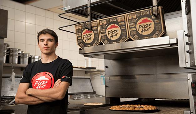 Pizza Hut es el nuevo patrocinador oficial de Álex Márquez