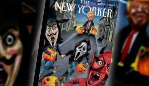 Truco o Trump: El presidente siembra el terror en la última portada de The New Yorker
