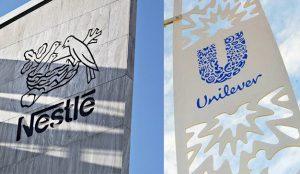 Unilever y Nestlé consiguen aumentar sus ingresos gracias a la subida de precios