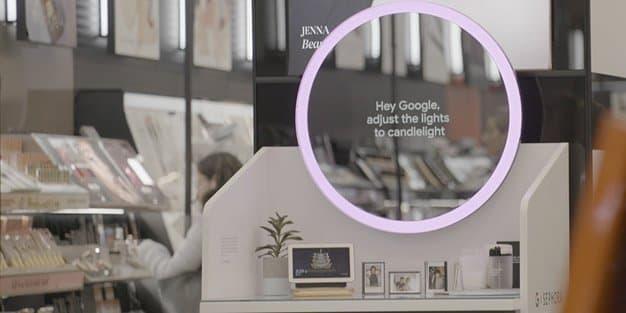 Google Home Hub Sephora