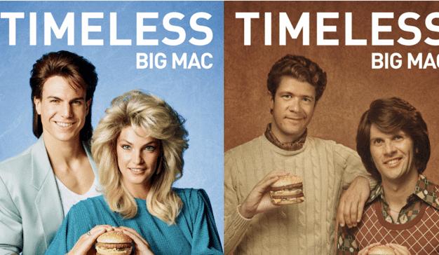 McDonald's vuelve al pasado para celebrar los 50 años de su icónico Big Mac