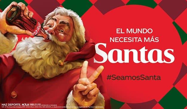 Llega la Navidad a Coca-Cola México: #SeamosSanta