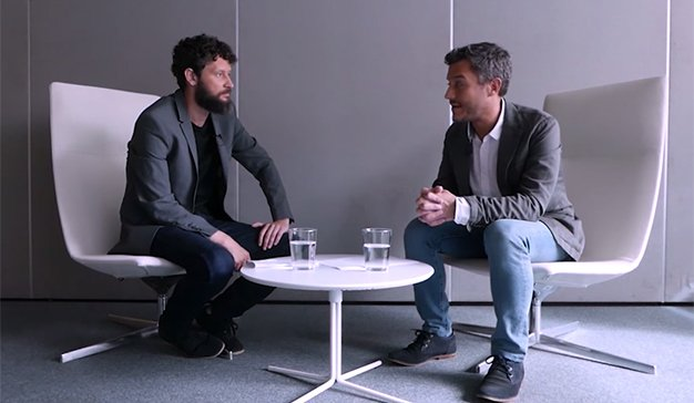 ADN Disruption by Dentsu Aegis Network: Nacho Torre (Ibercaja) y Paul Mato (Isobar España)