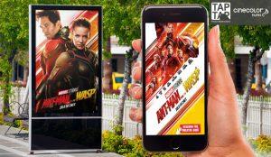 El estreno de Ant-Man en Colombia salta del circuito exterior a los smartphones