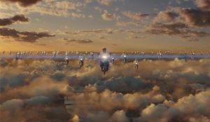 Una tropa de motoristas surca los cielos al ritmo de Donna Summer en este spot de Just Eat