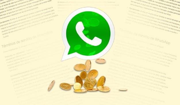 Whatsapp muestra publicidad
