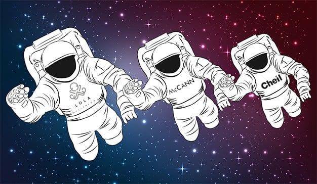 LOLA, McCann y Cheil, las agencias más creativas de la galaxia publicitaria en 2018