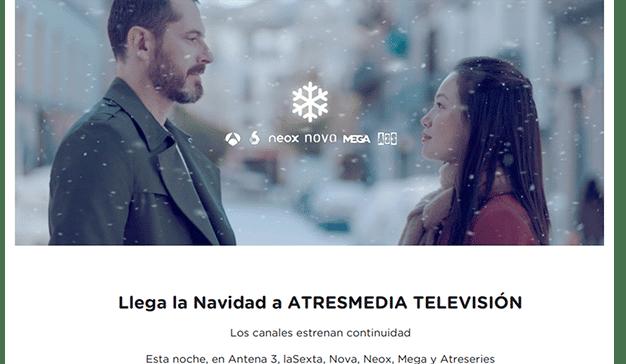 Llega la Navidad a Atresmedia Televisión