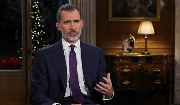 7.994.00 espectadores siguieron en directo el discurso del El Rey Felipe VI en televisión
