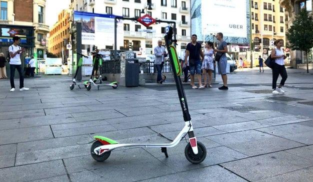 El Ayuntamiento de Madrid ordena retirar todos los patinetes eléctricos