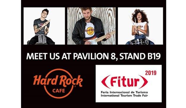 Hard Rock Cafe presentará en Fitur sus novedades para el mercado europeo