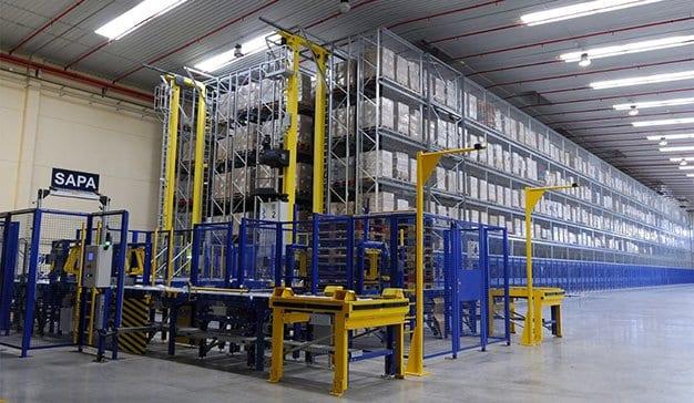 Almacenes automatizados: La tecnología al servicio de la logística