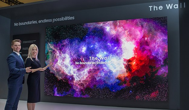 Samsung muestra el futuro de las pantallas con la innovadora tecnología Modular Micro LED en CES