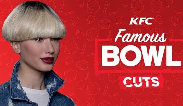 KFC resucita los icónicos cortes de pelo a tazón de los 90 en esta nostálgica campaña