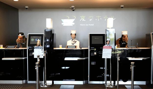 El hotel japonés gestionado por robots