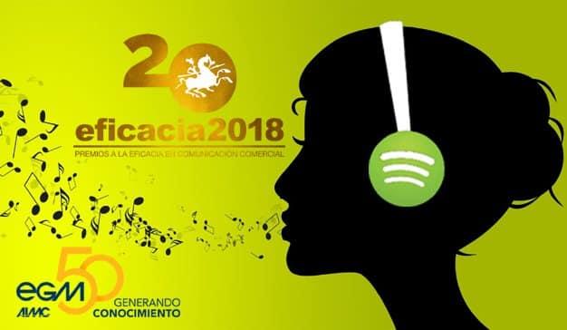 Octubre de 2018: 50 años del EGM, 20 de los Premios Eficacia y 10 de Spotify