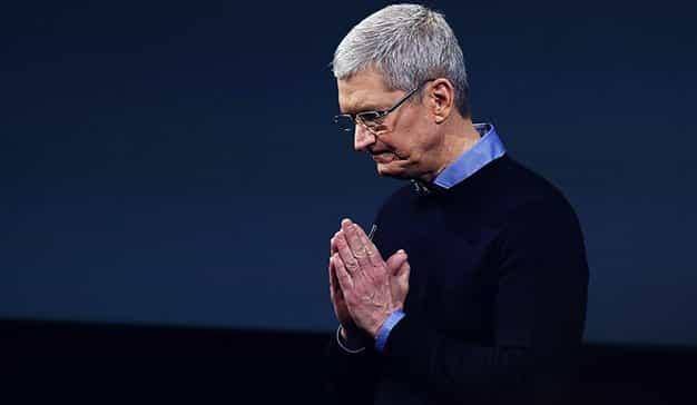La Navidad trae malos resultados para Apple y Tim Cook advierte a sus inversores