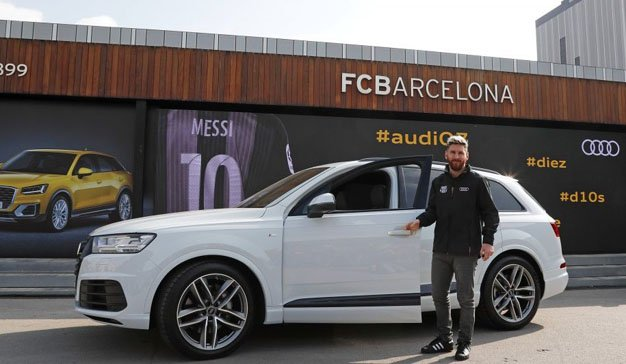 Audi dejará de patrocinar al Barcelona al terminar esta temporada