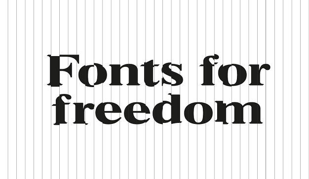 Fonts-for-Freedom