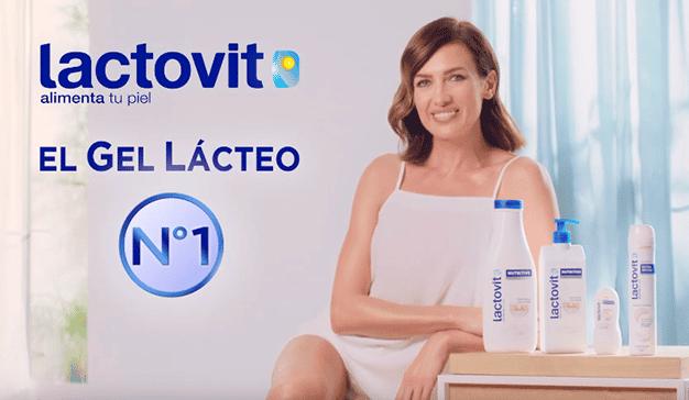 Nieves Álvarez protagoniza el nuevo spot de Lactovit