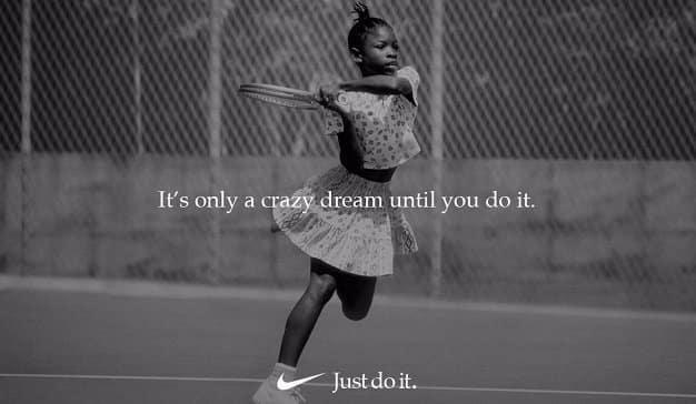 Nike y Serena Williams animan a las mujeres a
