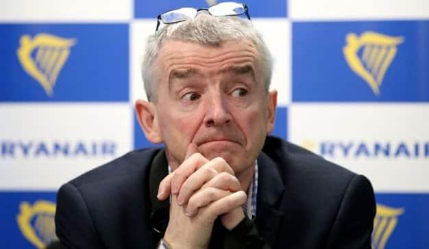 Ryanair prescinde de la gestión de O'Leary, después de perder 20 millones de euros en su tercer trimestre fiscal