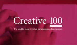 Por decimotercer año consecutivo, BBDO Red más creativa en el WARC Creative 100